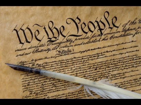 The Constitution of the United States of America youtube