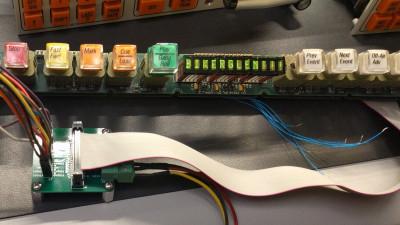 Converting Vintage Video Switcher Displays Biker Glen Reverse Engineering